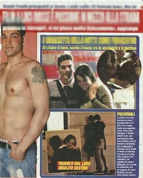 Foto | Sara Tommasi Baci Hot Con Nando Colelli Ex Concorrente Del Grande Fratello