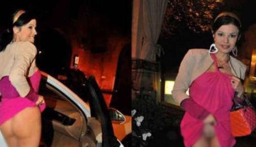 Foto | Sara Tommasi Hot Senza Mutande Alla Cena D'addio Con L'ex Fidanzato Alfonso Marra