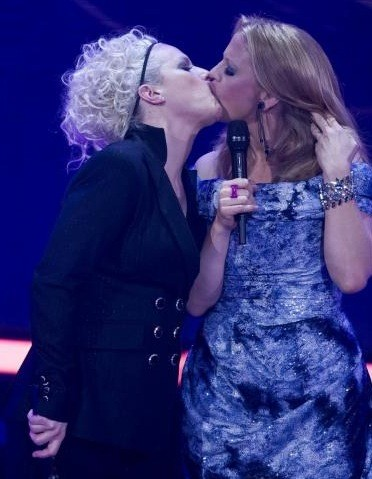 Bacio lesbo al Echo Music Award2.jpeg